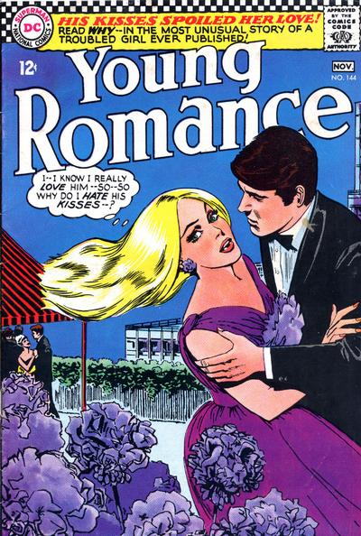 Cover for Young Romance (DC, 1963 series) #144