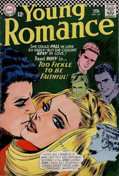 Cover for Young Romance (DC, 1963 series) #147