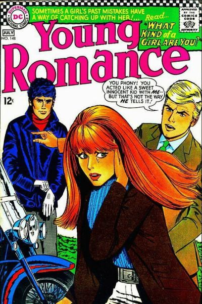 Cover for Young Romance (DC, 1963 series) #148