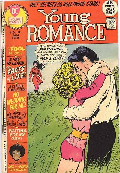 Cover for Young Romance (DC, 1963 series) #178