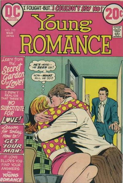 Cover for Young Romance (DC, 1963 series) #192