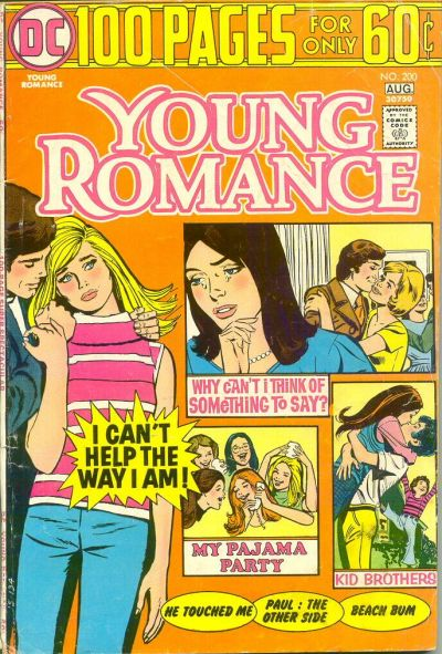 Cover for Young Romance (DC, 1963 series) #200