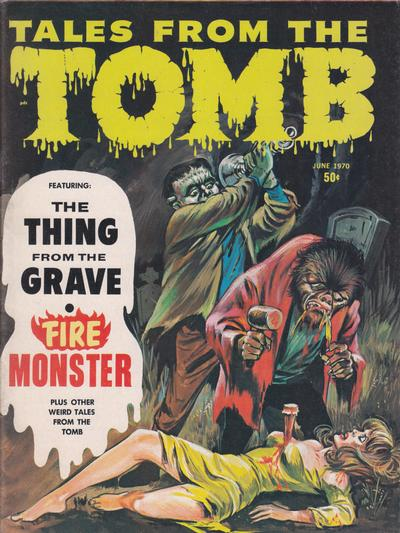 Cover for Tales from the Tomb (Eerie Publications, 1969 series) #v2#3