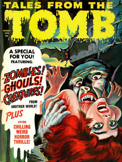 Cover for Tales from the Tomb (Eerie Publications, 1969 series) #v2#4