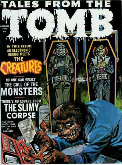Cover for Tales from the Tomb (Eerie Publications, 1969 series) #v2#5