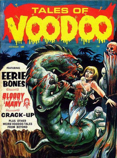 Cover for Tales of Voodoo (Eerie Publications, 1968 series) #v1#11