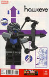 Cover Thumbnail for Hawkeye (2012 series) #15 [Leonel Castellani LEGO Variant Cover]