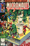 Cover for Micronauts (Marvel, 1979 series) #20 [Direct]