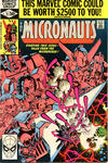 Cover for Micronauts (Marvel, 1979 series) #21 [Direct]