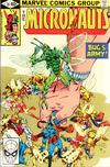 Cover for Micronauts (Marvel, 1979 series) #19 [Direct]