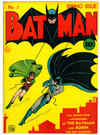Cover for Batman (DC, 1940 series) #1 [Cover Number with Period]