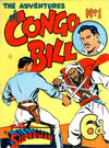 Cover for The Adventures of Congo Bill (K. G. Murray, 1954 series) #1