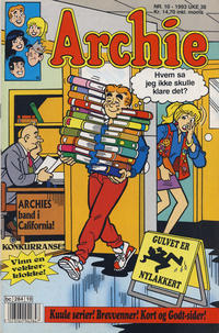 Cover Thumbnail for Archie (Semic, 1982 series) #10/1993