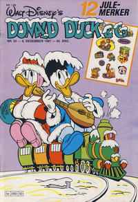Cover Thumbnail for Donald Duck & Co (Hjemmet / Egmont, 1948 series) #50/1987