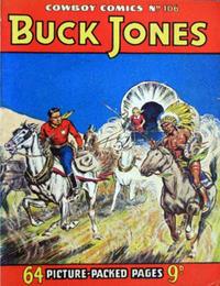 Cover Thumbnail for Cowboy Comics (Amalgamated Press, 1950 series) #106