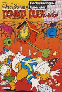 Cover Thumbnail for Donald Duck & Co (Hjemmet / Egmont, 1948 series) #53/1987