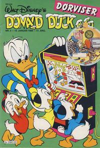 Cover Thumbnail for Donald Duck & Co (Hjemmet / Egmont, 1948 series) #3/1988