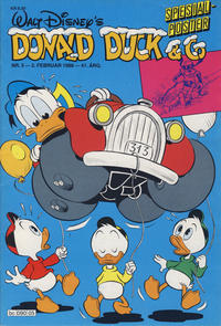 Cover Thumbnail for Donald Duck & Co (Hjemmet / Egmont, 1948 series) #5/1988