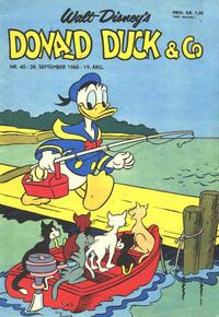 Cover Thumbnail for Donald Duck & Co (Hjemmet / Egmont, 1948 series) #40/1966