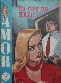 Cover Thumbnail for Amor (Serieforlaget / Se-Bladene / Stabenfeldt, 1961 series) #19/1962