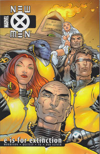 Cover Thumbnail for New X-Men (Marvel, 2001 series) #1 [Second Printing] - E Is for Extinction