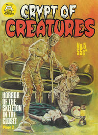 Cover Thumbnail for Crypt of Creatures (Gredown, 1976 series) #5