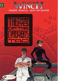 Cover Thumbnail for Largo Winch (Cinebook, 2008 series) #11 - The Three Eyes of the Guardians of the Tao