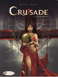 Cover Thumbnail for Crusade (Cinebook, 2010 series) #4 - The Fire Breaks