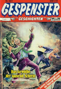 Cover Thumbnail for Gespenster Geschichten (Bastei Verlag, 1974 series) #501