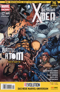 Cover Thumbnail for Die neuen X-Men (Panini Deutschland, 2013 series) #9