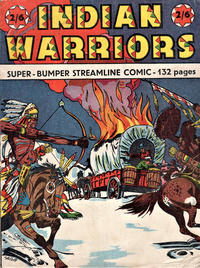 Cover Thumbnail for Indian Warriors Super-Bumper Streamline Comic (Streamline, 1950 ? series) #[nn]