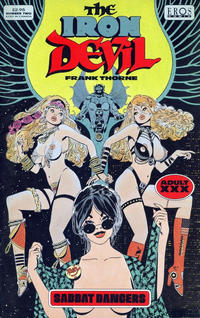 Cover Thumbnail for The Iron Devil (Fantagraphics, 1993 series) #2
