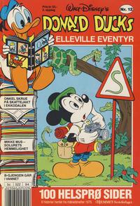 Cover Thumbnail for Donald Ducks Elleville Eventyr (Hjemmet / Egmont, 1986 series) #12 [Reutsendelse]