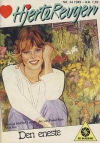 Cover Thumbnail for Hjerterevyen (Serieforlaget / Se-Bladene / Stabenfeldt, 1960 series) #34/1989