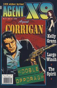 Cover Thumbnail for Agent X9 (Hjemmet / Egmont, 1998 series) #4/1998
