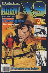 Cover Thumbnail for Agent X9 (Hjemmet / Egmont, 1998 series) #12/1998