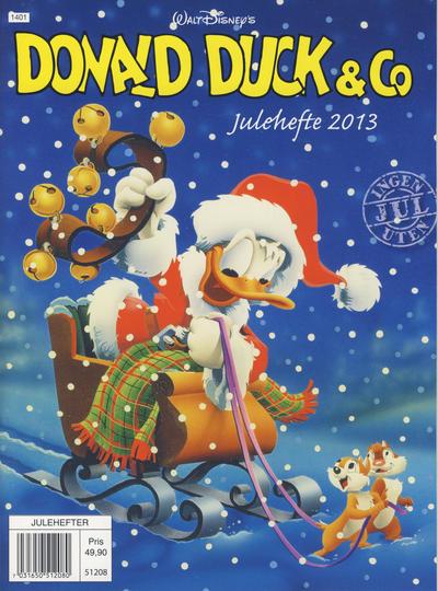 Cover for Donald Duck & Co julehefte (Hjemmet / Egmont, 1968 series) #2013 [Bokhandelutgave]