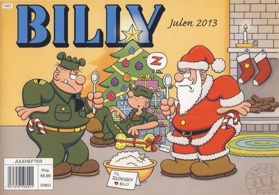 Cover for Billy julehefte (Hjemmet / Egmont, 1970 series) #2013 [Bokhandelutgave]