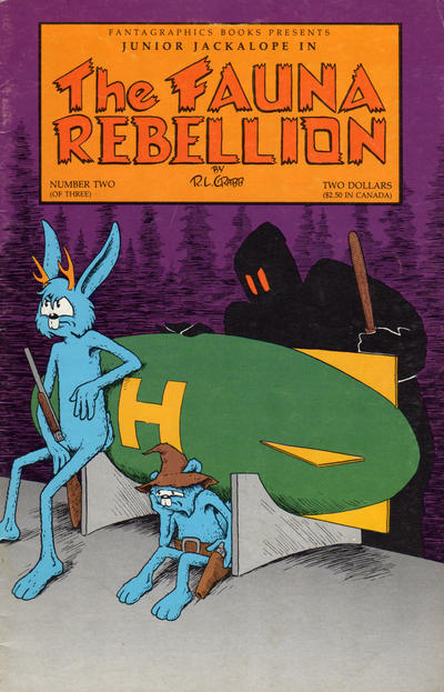 Cover for The Fauna Rebellion (Fantagraphics, 1990 series) #2