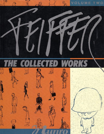 Cover for Feiffer the Collected Works (Fantagraphics, 1988 ? series) #2