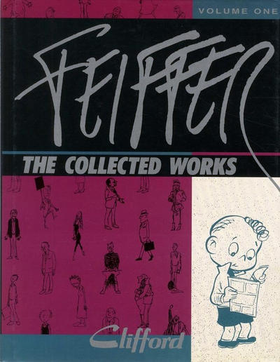 Cover for Feiffer the Collected Works (Fantagraphics, 1988 ? series) #1