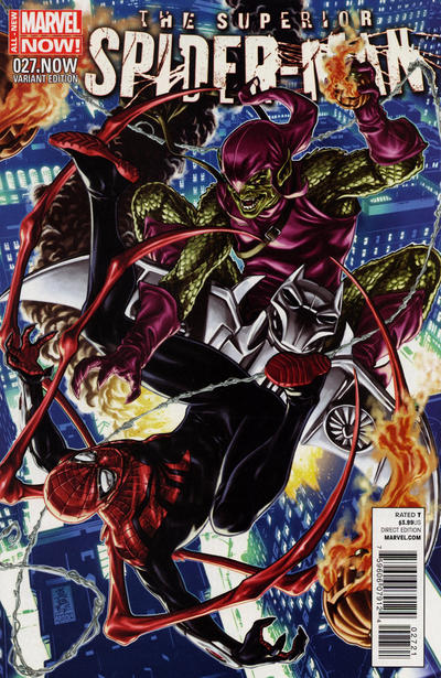 Cover for Superior Spider-Man (Marvel, 2013 series) #27
