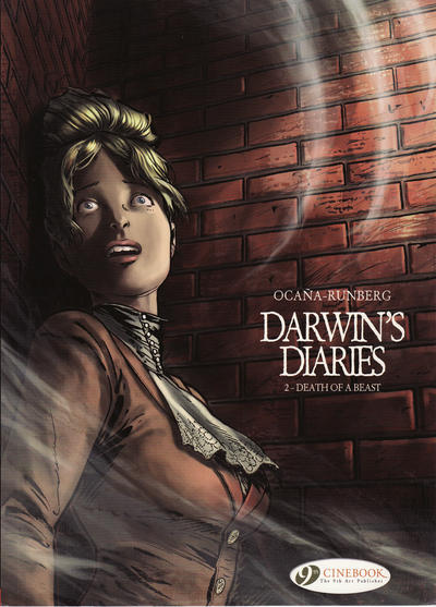 Cover for Darwin's Diaries (Cinebook, 2011 series) #2 - Death of a Beast