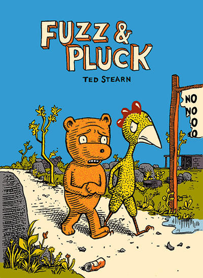 Cover for Fuzz & Pluck (Fantagraphics, 1999 series)
