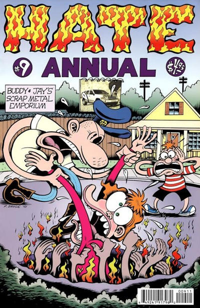 Cover for Hate Annual (Fantagraphics, 2001 series) #9