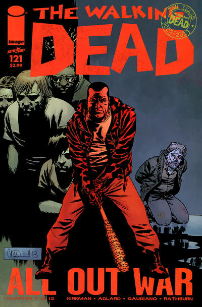 Cover for The Walking Dead (Image, 2003 series) #121