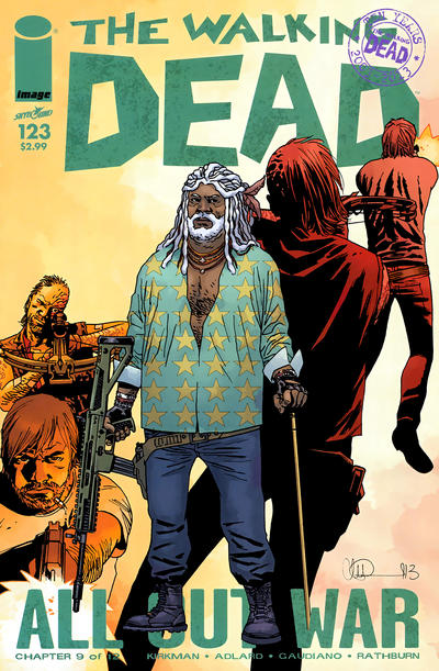 Cover for The Walking Dead (Image, 2003 series) #123