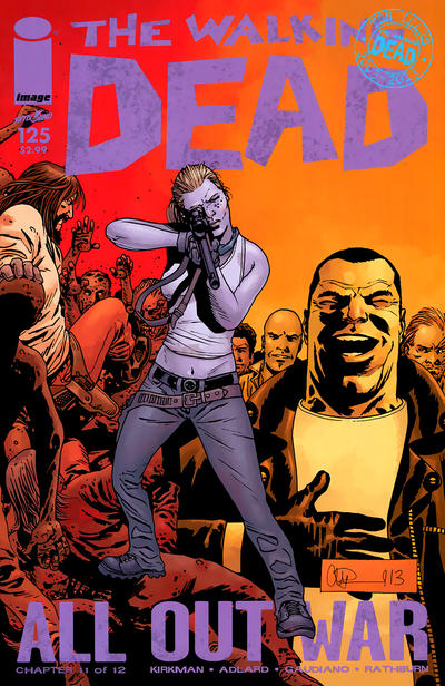 Cover for The Walking Dead (Image, 2003 series) #125