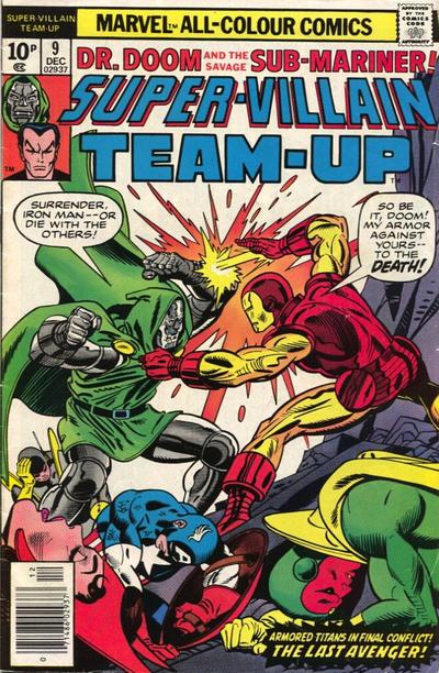 Cover for Super-Villain Team-Up (Marvel, 1975 series) #9