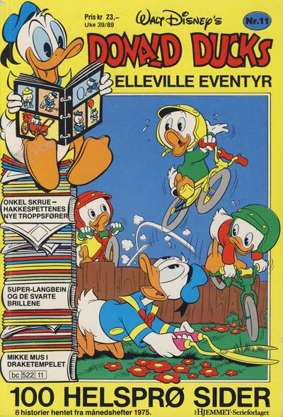 Cover for Donald Ducks Elleville Eventyr (Hjemmet / Egmont, 1986 series) #11